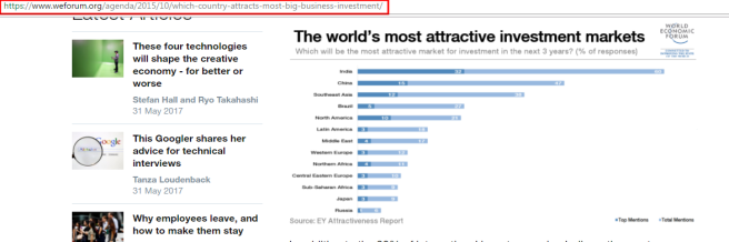 WEF-attractive investment markets
